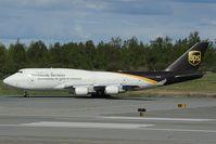 N579UP @ PANC - UPS Boeing 747-400