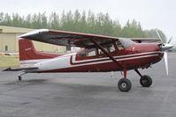 N1231F @ PAAQ - Cessna 185