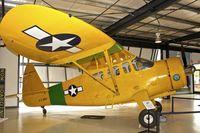 N5553N @ KSMO - Exhibited at the Museum of Flight at Santa Monica Airport , California