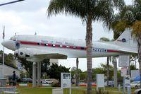 N242SM @ KSMO - Exhibited in the Museum of Flight in Santa Monica Airport