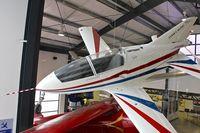 N70CF @ KSMO - Exhibited in the Museum of Flying in Santa Monica Airport