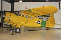 N5553N @ KSMO - Exhibited in the Museum of Flying in Santa Monica Airport