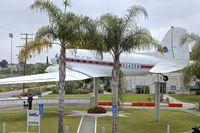 N242SM @ KSMO - Exhibited in the Museum of Flying in Santa Monica Airport