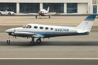 N4674N @ KSMO - Exhibited in the Museum of Flying in Santa Monica Airport