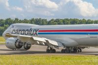 LX-VCC @ ELLX - Boeing 747-8R7F - by Jerzy Maciaszek