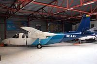 SE-LZU @ EBAW - Rockwell 690A Commander [11121] (Aerodata International Surveys) Antwerp-Deurne~OO 11/08/2010