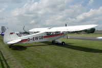 D-EWGB @ EGBR - Piper PA-18-150 Super Cub at The Real Aeroplane Company's Wings & Wheels Fly-In, Breighton Airfield, July 2013. - by Malcolm Clarke