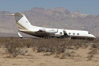 C-GBBB @ L71 - Ex Algerian AF Gulfstream -Parked at California City Municipal - by Terry Fletcher