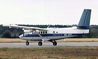 OO-JFP @ EGLK - de Havilland Canada DHC-6-100 Twin Otter [74] (Publi-Air) Blackbushe~G 11/09/1976. Image taken from a slide.