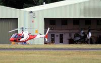 G-NIPL @ EGLD - Originally and currently owned to, Pacific Helicopters Ltd in March 2013 - by Clive Glaister