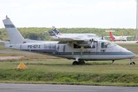 P2-GTZ @ YBCS - Looking rather drab. Taken at Cairns Int 30th July 2013 - by Jon Williams