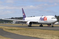 N101FE @ KBFI - First FedEx 767-300F seen at BFI after its first flight. - by Joe G. Walker