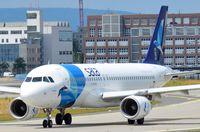 CS-TKO @ EDDF - Sata A320 taxying out - by FerryPNL