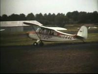 N1044E - N1044E parked at Central Jersey Regional Airport (formerly Kupper Airport) in the late 1970's.  Photo captured from family Super-8 film. - by John Makin
