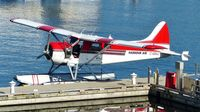 C-GOLC @ CYHC - Harbour Air #221 tied at the dock in Coal Harbour. - by M.L. Jacobs