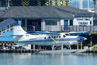 C-FHAS @ CYVR - Harbour Air #312 docked at Fraser River terminal. - by M.L. Jacobs