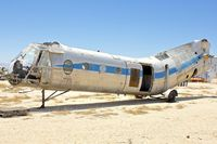 N10109 - In a scrapyard in Rosamond , California - by Terry Fletcher