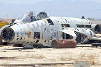 57-0393 - In a scrapyard in Rosamond , California - by Terry Fletcher
