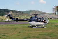 C-FNHE @ TNCE - Surprisingly even a helicopter showed up in Oranjestad. - by Tomas Milosch