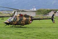 3C-OL @ LOXZ - Austrian AF OH-58 - by Thomas Ranner