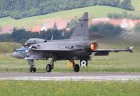 9240 @ LOXZ - Czech AF Saab Gripen - by Thomas Ranner