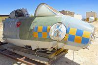 N72602 @ KWJF - At Milestones of Flight Museum at Lancaster CA