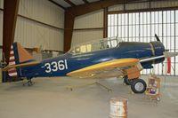 N3361 @ KWJF - At Milestones of Flight Museum at Lancaster CA