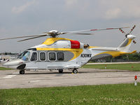 N30WX @ YKZ - This 2009 AgustaWestland AW-139 sits at Buttonville Airport north of Toronto waiting for service. - by switch95