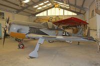 N7334W @ KWJF - Replica FW190 -At Milestones of Flight Museum at Lancaster CA