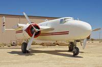 N3968C @ KWJF - At Milestones of Flight Museum at Lancaster CA