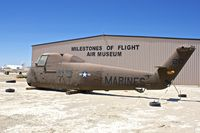 N85128 @ KWJF - At Milestones of Flight Museum at Lancaster CA