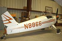 N8866 @ KWJF - At Milestones of Flight Museum at Lancaster CA