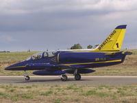 ES-YLX @ LMML - Aero L-39 ES-YLX Breitling Team - by Raymond Zammit