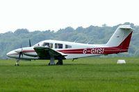 G-GHSI @ EGTB - Piper PA-44-180T Turbo Seminole [44-8107026] Booker~G 09/06/2007 - by Ray Barber