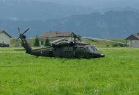 6M-BH @ LOXZ - Austrian Air Force S-70 Black Hawk - by Andreas Ranner