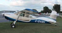 C-GVSH @ KAXN - Cessna A185F Skywagon in overflow parking. - by Kreg Anderson