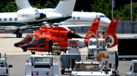 6590 @ KDCA - USCG helos 6590 and 6522 - by Ronald Barker
