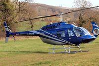 G-ENES @ EGBC - Bell 206B3 Jet Ranger III [4601] Cheltenham Racecourse~G 18/03/2011