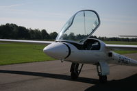 D-KGLT @ EBZW - typical nose section with propellor - by Karel Baeten