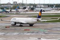 D-AIKF @ EDDF - Lufthansa A330 - by Thomas Ranner