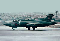 XV344 @ LMML - HS Buccaneer XV344/035 of 809Naval Air Squadron, Royal Navy taxying in after landing in Malta.
