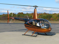 C-FHSJ @ CNK4 - This gorgeous helicopter just landed here at Parry Sound Municipal. It is based farther south at Holland Landing Airport (CLA4). Its pilot was quite friendly too. - by Chris Coates