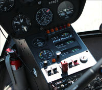 C-FHOZ @ CLA4 - This a a cockpit view of a Robinson RA-44 II taken at the Holland Landing Airport (CLA4) in Ontario just north of Toronto. - by Ron Coates