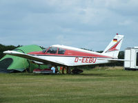 D-EEBU @ EGML - at Daymn's Hall Farm, Upminster, Essex - by Chris Hall