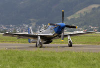 F-AZXS @ LOXZ - North American Mustang - by Andreas Ranner