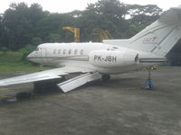 PK-JBH @ WIHH - crashed on landing February 2013 in Halim airport, Jakarta - by Eko Riawan