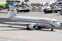 EI-EYR @ EDDF - Rossiya A320