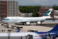 B-HOR @ EDDF - Cathay Pacific B747 - by Thomas Ranner