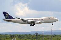 TF-AMU @ EDDF - Saudi Cargo B747