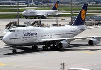 D-ABVO @ EDDF - Lufthansa B747